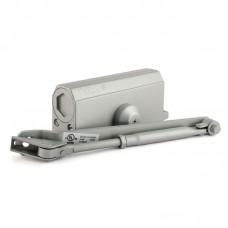 Доводчик дверной НОРА-М 3S с малым рычагом, серый