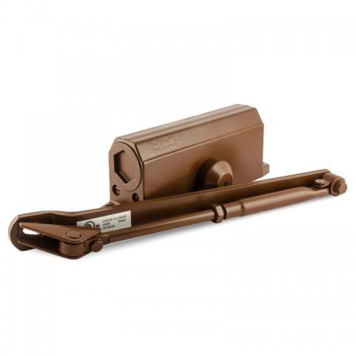 Доводчик дверной НОРА-М №3S большой EN3, цвет - коричневый (бронза)