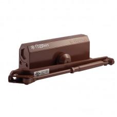 Доводчик дверной НОРА-М №4S большой EN4, цвет - коричневый (бронза)