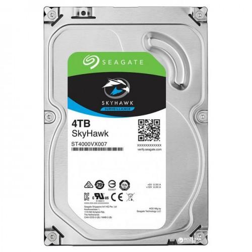 Жесткий диск для видеонаблюдения  4Tb Seagate SkyHawk SATA3 3.5