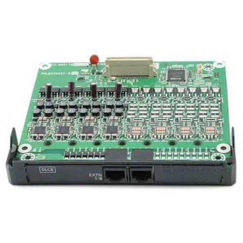 KX-NS5171X Panasonic, 8-портовая плата цифровых внутренних линий DLC8