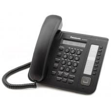 KX-DT521RU-B Цифровой системный телефон, большой ЖК-дисплей (1 строка) с подсветкой и с поддержкой к