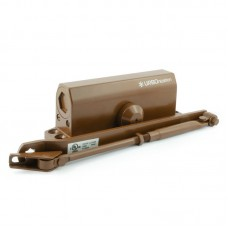 Дверной доводчик НОРА-М 550 URBOnization, коричневый