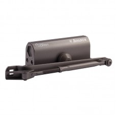 Доводчик НОРА-М 430 F ISPARUS фиксация (от 50 до 110кг) (графит/бронза) морозостойкий