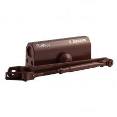 Доводчик НОРА-М 430 F ISPARUS фиксация (от 50 до 110кг) (коричневый) морозостойкий