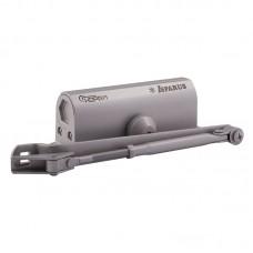 Доводчик НОРА-М 430 F ISPARUS фиксация (от 50 до 110кг) (серый) морозостойкий