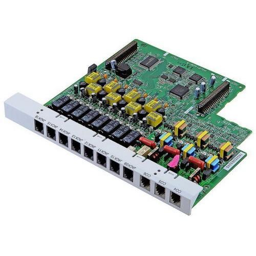 KX-TE82483X 8-портовая плата гибридных внутренних линий с 3-мя портами аналоговых внешних (CO) линий