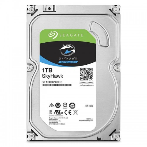 Жесткий диск для видеонаблюдения  1Tb Seagate SkyHawk SATA3 3.5