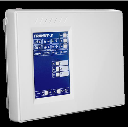 Гранит-3 Прибор приемно-контрольный и управления охранно-пожарный