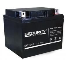 Аккумулятор SF 12V-40A