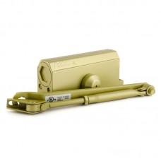 Доводчик дверной НОРА-М 3S с малым рычагом, золото