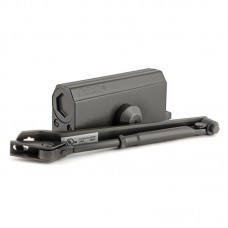 Доводчик дверной НОРА-М 3S с малым рычагом, черный