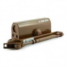 Доводчик дверной НОРА-М 520 URBOnization (25-70), коричневый
