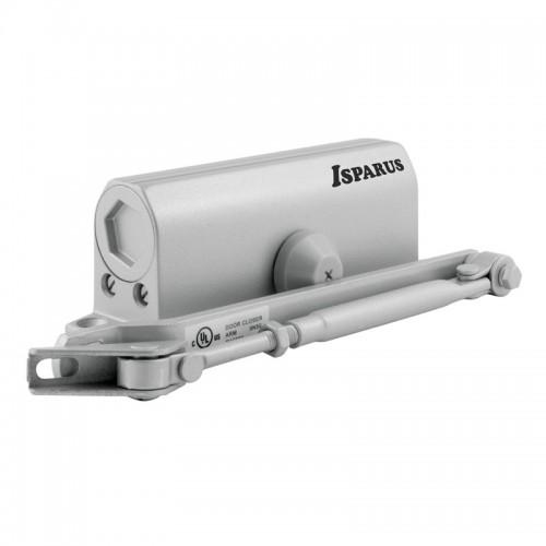 Доводчик НОРА-М ISPARUS 430, серебро (от 50 до 110 кг) морозостойкий