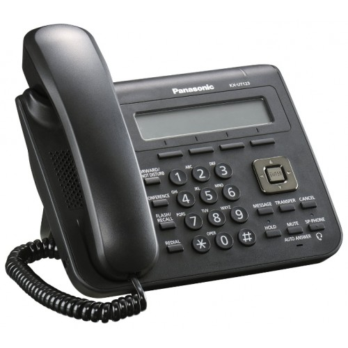 KX-UT123RU-B Проводной SIP-телефон