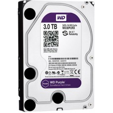 Жесткий диск для видеонаблюдения HDD 3Tb Western Digital Purple WD30PURX SATA 6Gb/s 64Mb 3,5''
