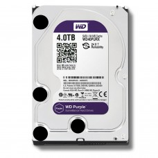 Жесткий диск для видеонаблюдения HDD 4Tb Western Digital Purple WD40PURX SATA 6Gb/s 64Mb 3,5''