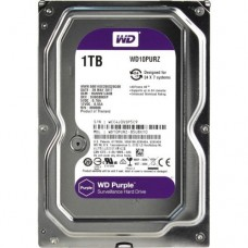 Жесткий диск для видеонаблюдения HDD 1Tb Western Digital Purple WD10PURZ SATA 6Gb/s 64Mb 3,5''
