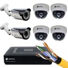 IP-4 камеры внутренние,2 камеры уличные