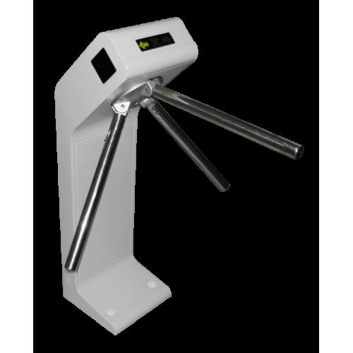 Турникет полуавтоматический SA-301(серый цвет корпуса) c IP-контроллером. Планки