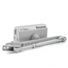 Доводчик НОРА-М ISPARUS 410, серый (от 15 до 60кг) морозостойкий