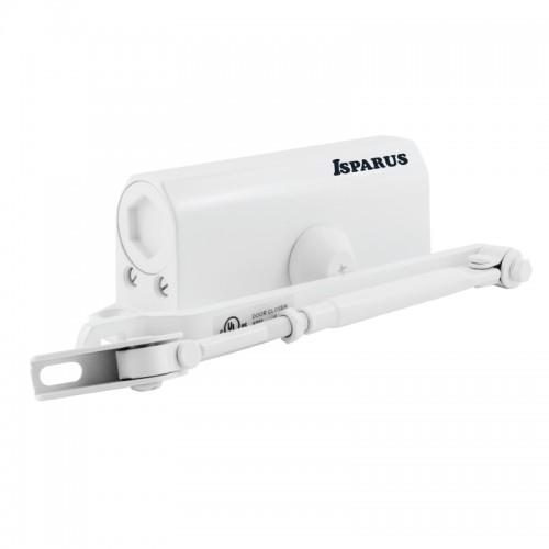 Доводчик НОРА-М ISPARUS 430, белый (от 50 до 110 кг) морозостойкий