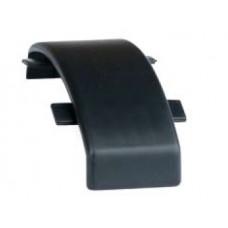 01344 Соединение для напольного канала 75х17 мм GSP A, цвет чёрный
